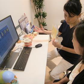 歯科助手・受付のアドバイス・カウンセリング業務の画像